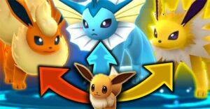 Cách tiến hóa Pokemon Go