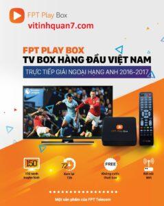 Fpt Play TiVi Box với nhiều kênh thể thao