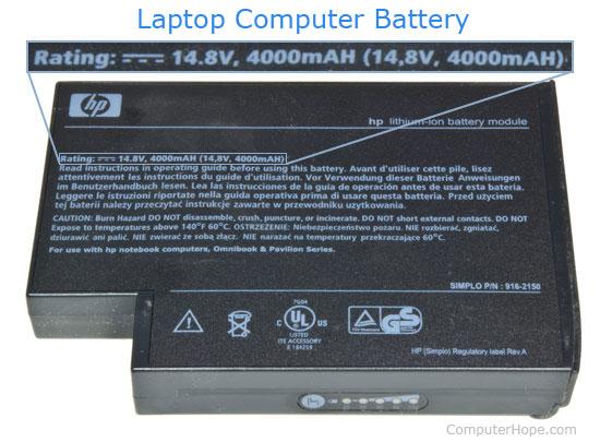Pin máy tính xách tay