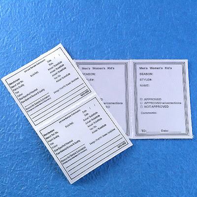 In decal giấy khổ 6 x 18 cm