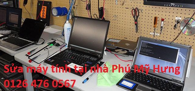 Sửa máy tính tại nhà Phú Mỹ Hưng